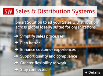 Sales and distribution management systems, smartworks systems karachi, pakistan